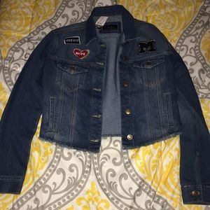 Jena jacket with patches